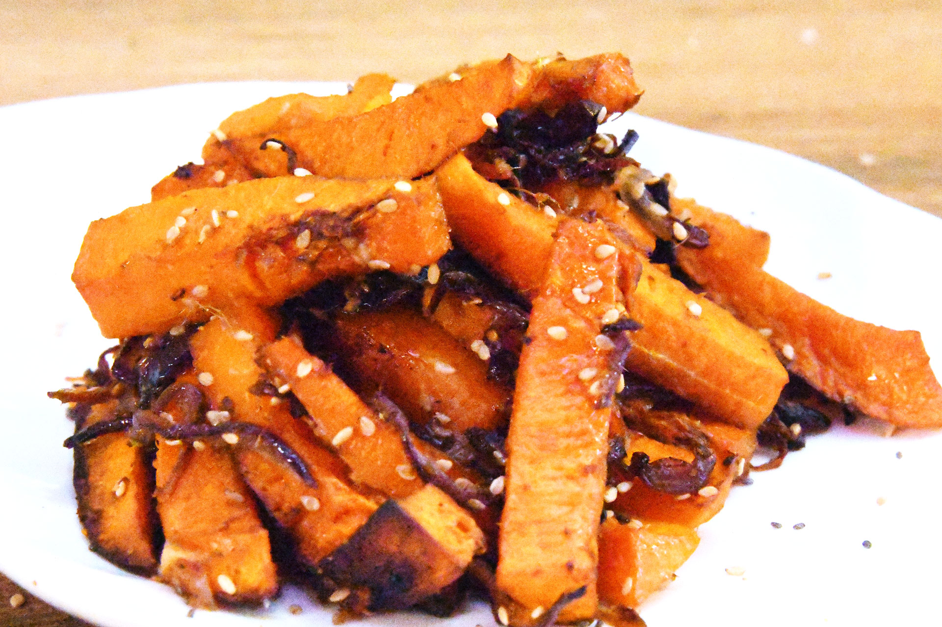 Roast Butternut Chips