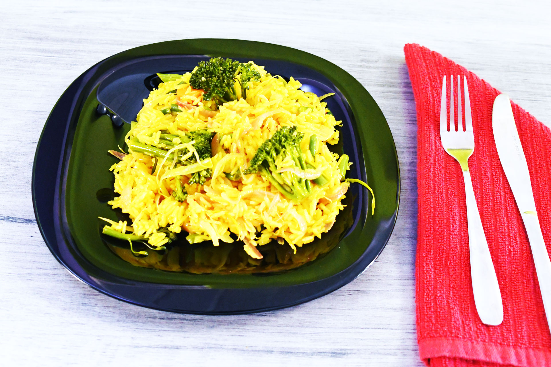 Lemon and Veg rice