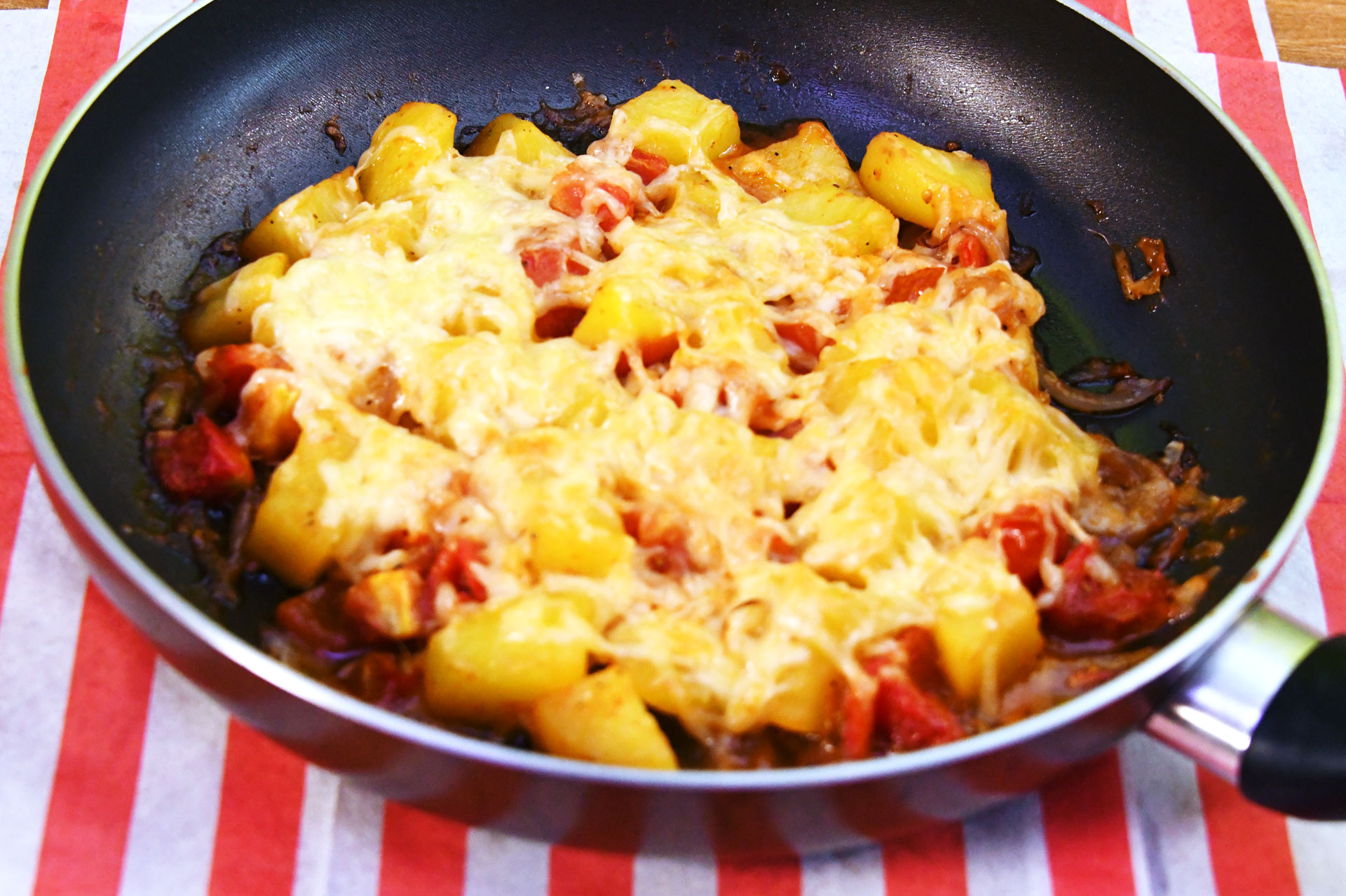 Potato Tomato Bake