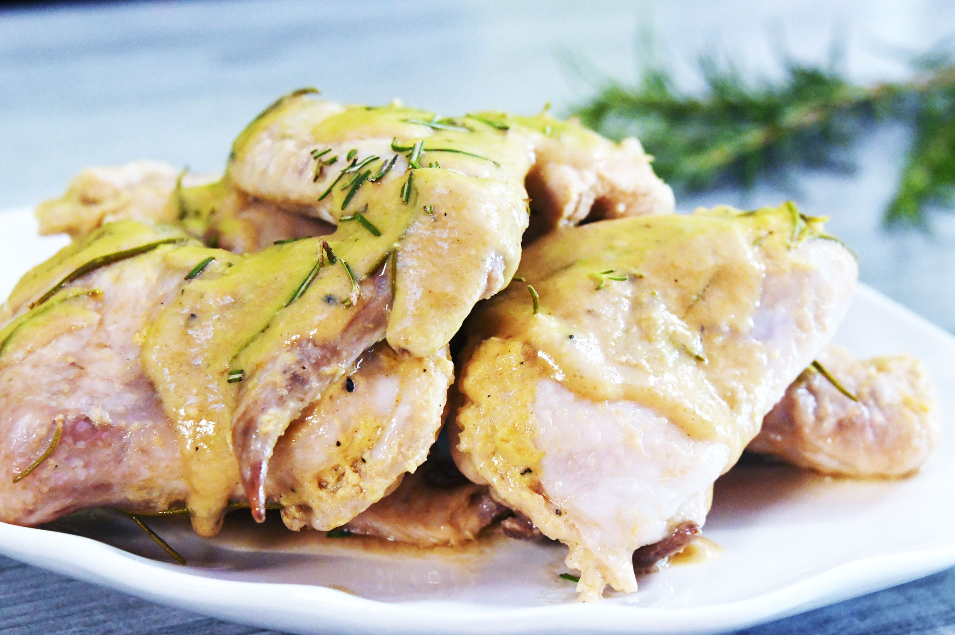 Mustard Chicken Wings